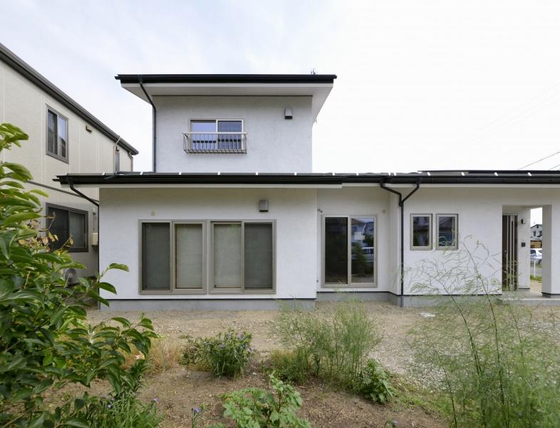 中古住宅 2棟を1棟へ リノベーション 長野市S様邸