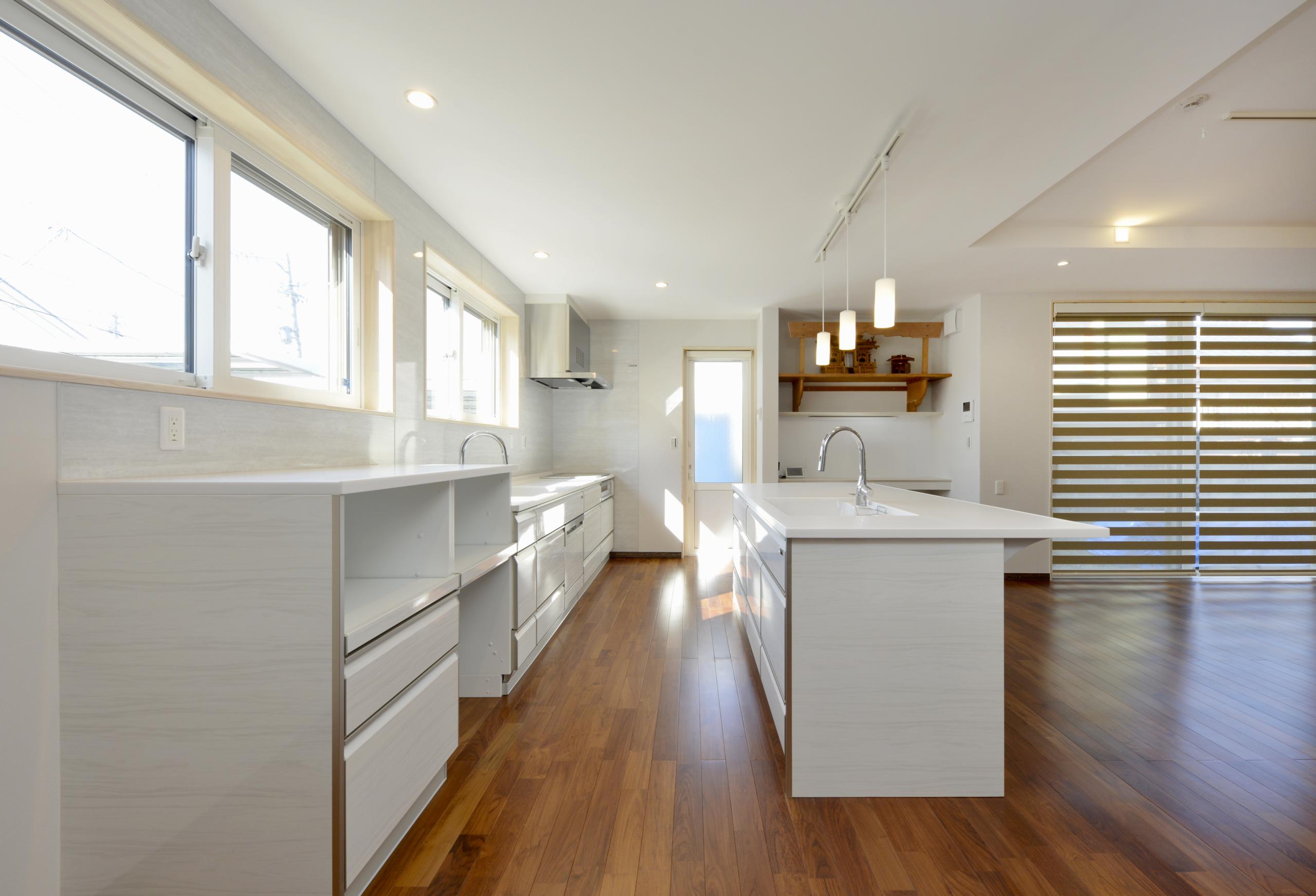 自然環境を考えて、長期優良住宅にしました。