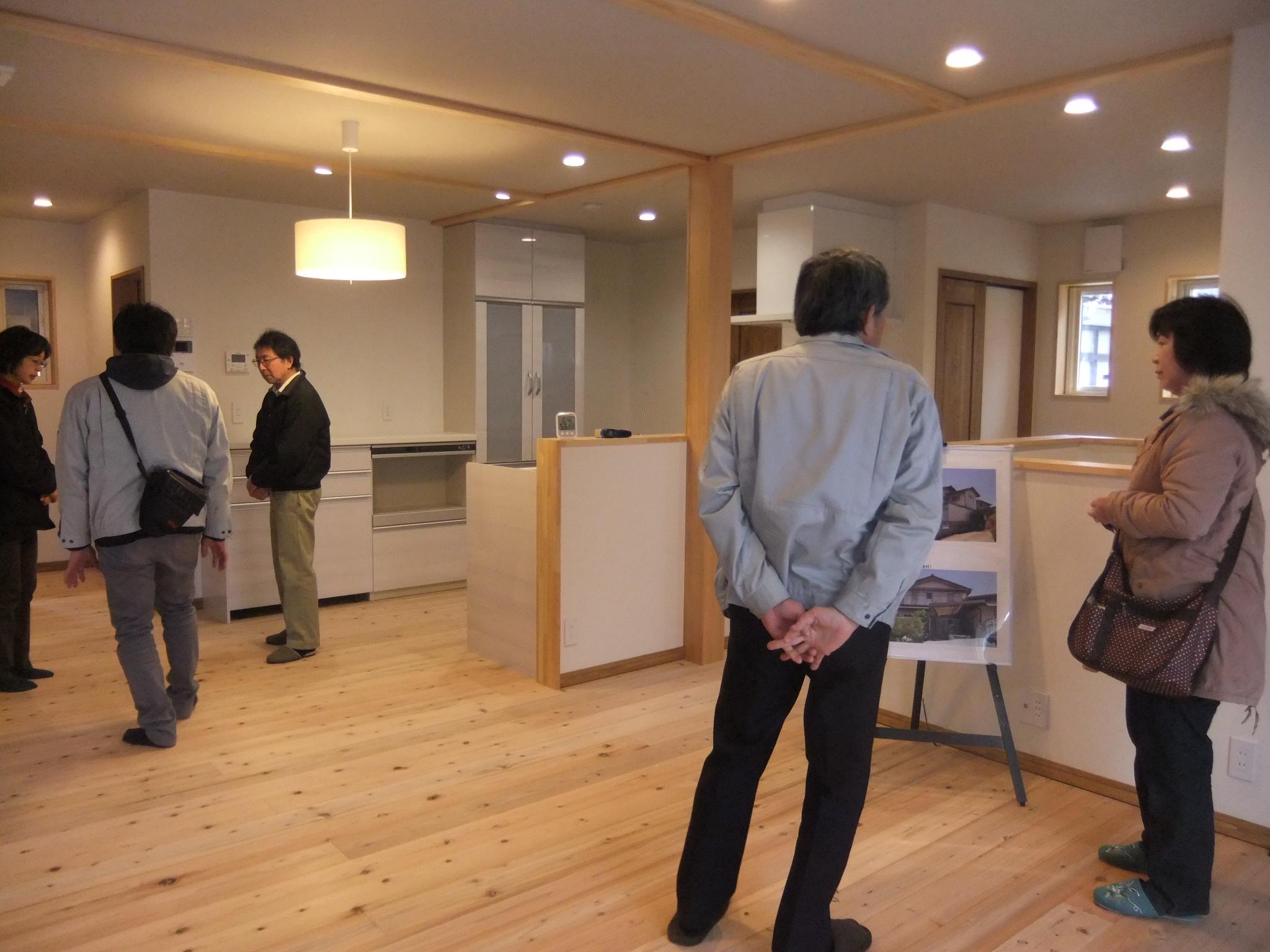 長期優良住宅化リフォームの打ち合わせ