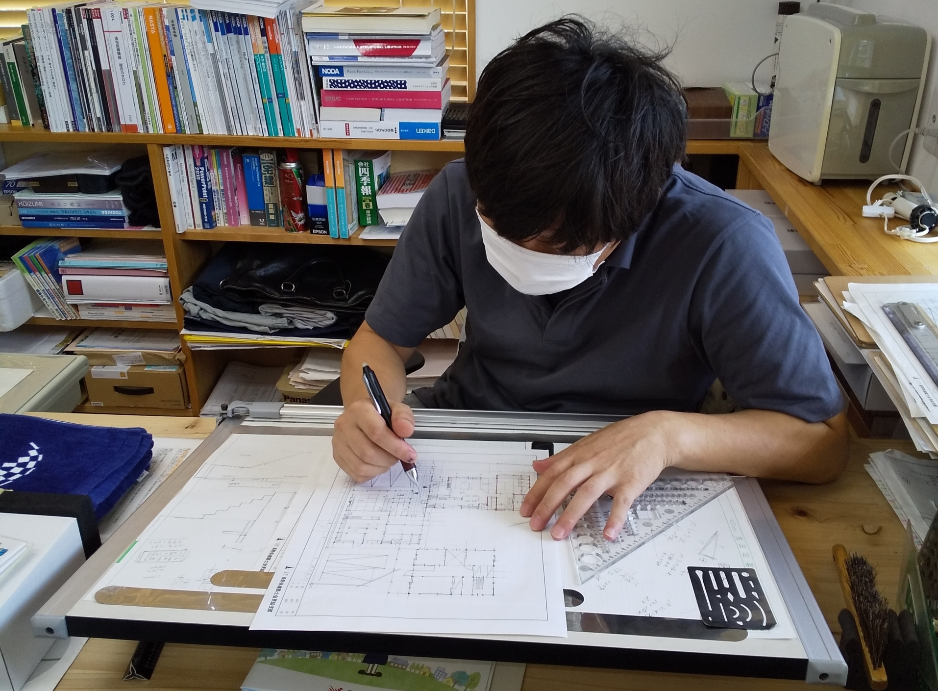 長野市 三世帯同居住宅新築に向けて設計中